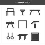 Attrezzatura artistica di ginnastica Fotografia Stock