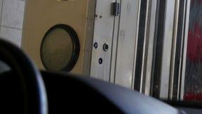 Attrezzatura automatica dell'autolavaggio video d archivio