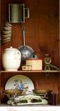 Attrezzatura d'annata 2 della cucina Fotografia Stock Libera da Diritti