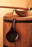 Attrezzatura d'annata della cucina Fotografia Stock Libera da Diritti