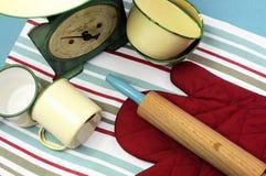 Attrezzatura d'annata della cucina - antenna. Fotografia Stock Libera da Diritti