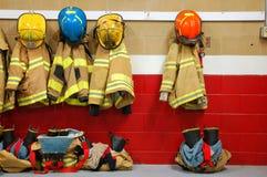 Attrezzatura del fuoco a riposo fotografia stock libera da diritti