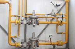 Attrezzatura del gas Immagini Stock Libere da Diritti