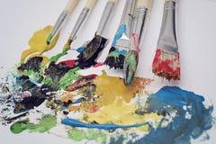 Attrezzatura del materiale illustrativo Fotografia Stock