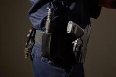 Attrezzatura del poliziotto Fotografia Stock