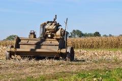 Attrezzatura dell'azienda agricola di Amish nel campo 3 Fotografia Stock