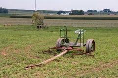 Attrezzatura dell'azienda agricola di Amish nel campo 4 Fotografie Stock