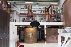 Attrezzatura della distilleria fotografie stock libere da diritti
