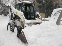 Attrezzatura della neve Immagini Stock