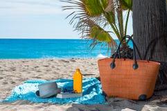 Attrezzatura della spiaggia Fotografia Stock