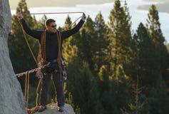Attrezzatura di arrampicata fotografie stock libere da diritti