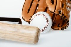 Attrezzatura di baseball Fotografia Stock