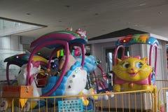 Attrezzatura di divertimento nel parco di divertimenti dei bambini di Shenzhen Immagini Stock