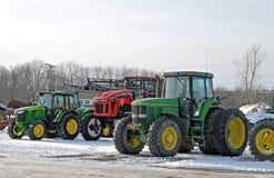 Attrezzatura di Ford Farm e di John Deere Immagini Stock Libere da Diritti