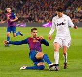 Attrezzatura di gioco del calcio Fotografia Stock Libera da Diritti