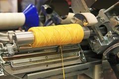 Attrezzatura di industria tessile Fotografia Stock