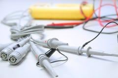 Attrezzatura di misura elettrica Fotografia Stock Libera da Diritti