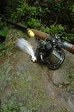 Attrezzatura di pesca Immagine Stock