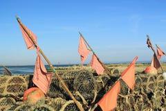 Attrezzatura di pesca Immagini Stock Libere da Diritti