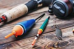 Attrezzatura di pesca immagine stock libera da diritti