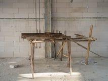 Attrezzatura di piegamento dell'acciaio Fotografia Stock Libera da Diritti