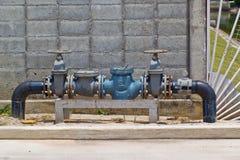 Attrezzatura di rifornimento idrico Fotografia Stock