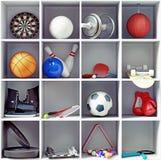 Attrezzatura di sport Fotografie Stock