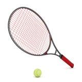 Attrezzatura di tennis Fotografie Stock