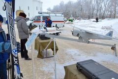 Attrezzatura EMERCOM della Russia Fotografie Stock