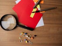 Attrezzatura fissa da tavolo fotografie stock libere da diritti