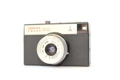 Attrezzatura fotografica sovietica La macchina fotografica Smena 8M Immagine Stock Libera da Diritti