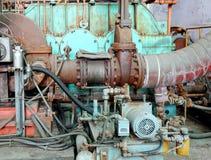 Attrezzatura industriale d'annata Fotografia Stock