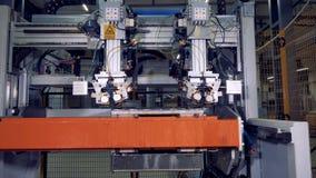 Attrezzatura industriale moderna 4K stock footage