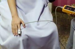 Attrezzatura medica ed ossigeno Fotografia Stock