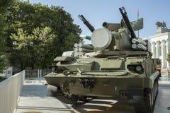 Attrezzatura militare della difesa Immagini Stock Libere da Diritti
