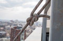 Attrezzatura per alpinismo industriale Fotografie Stock Libere da Diritti