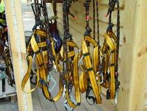 Attrezzatura per alpinismo industriale Immagini Stock