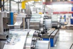 Attrezzatura per l'immagine vaga produzione metallurgica Fotografia Stock