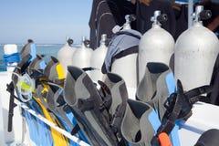 Attrezzatura per l'immersione Immagini Stock Libere da Diritti