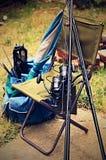 Attrezzatura per la pesca fotografia stock libera da diritti