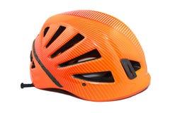 Attrezzatura rampicante - casco Immagine Stock