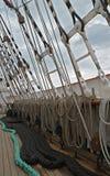 Attrezzature della barca a vela Immagini Stock Libere da Diritti