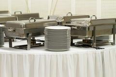 Attrezzature della cucina del metallo Fotografie Stock Libere da Diritti