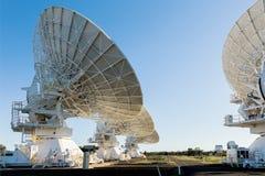 Attrezzature di comunicazione vicino a Narrabri Australia fotografie stock libere da diritti