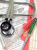Attrezzature mediche Immagine Stock