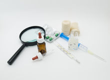 Attrezzature mediche Fotografia Stock