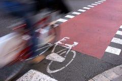 Attrezzature urbane per trasporto sostenibile fotografia stock