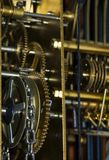 Attrezzi & catena dell'orologio Immagine Stock Libera da Diritti
