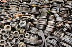 Attrezzi arrugginiti del metallo Fotografia Stock