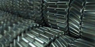 Attrezzi del metallo Fotografia Stock
